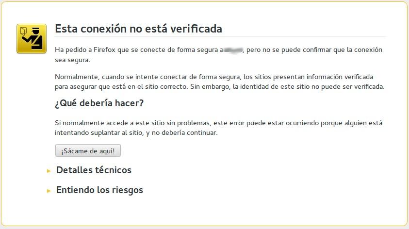 verificacion conexion