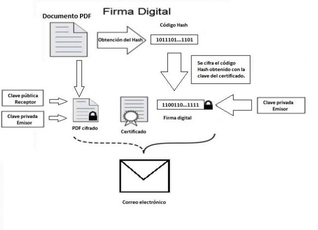 proceso firma digital